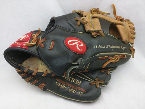GTS3B Black Rawlings Baseball Glove Mitt