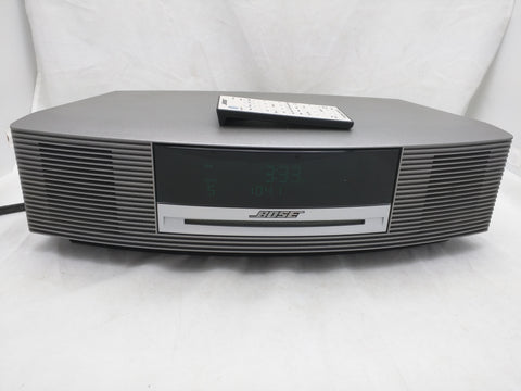 Bose Wave III Stereo Remote Radio Alarm CD Player Music System