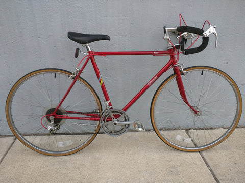 KHS Winner 10 Speed Road Bike Bicycle Vintage SunTour Maroon