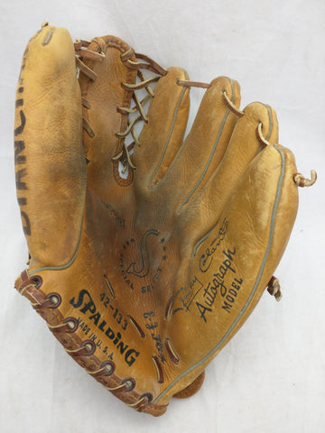 42-133 Rocky Colavito Autograph Model Spalding Endorsed Vintage Baseball Glove Mitt Leather RHT