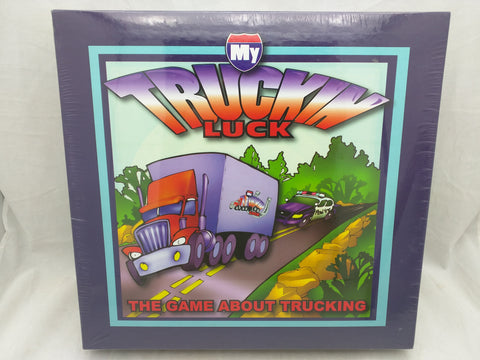 NEW My Truckin Luck Family Board Game Trucking Truck Driving Travel Road