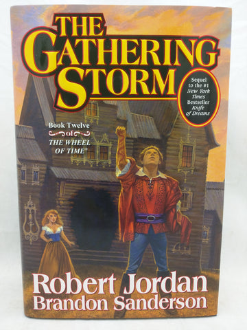 Signed by Brandon Sanderson The Gathering Storm Robert Jordan