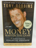 Signed by Tony Robbins Money Master the Game