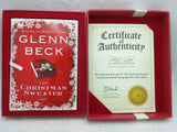 Signed by Glenn Beck The Christmas Sweater Boxed