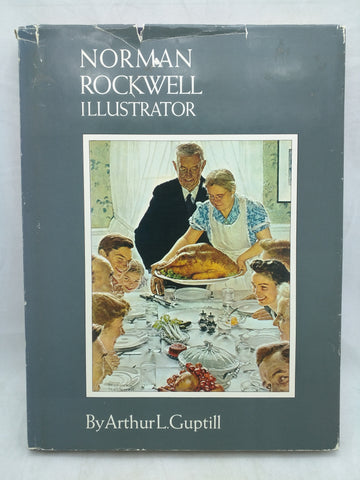 Signed by Norman Rockwell Illustrator Guptill