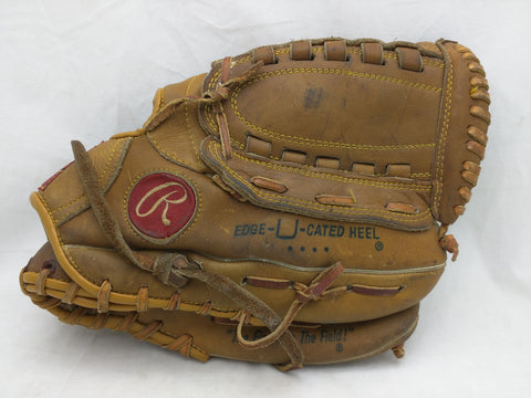 GJ40 Bill Madlock RHT Rawlings Endorsed Vintage Baseball Glove Mitt Leather