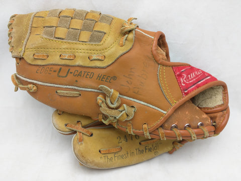 2476 Rickey Henderson LHT Rawlings Endorsed Vintage Baseball Glove Mitt Leather