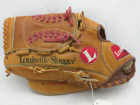 2401 Orel Hershiser LHT Louisville Slugger Endorsed Vintage Baseball Glove Mitt Leather