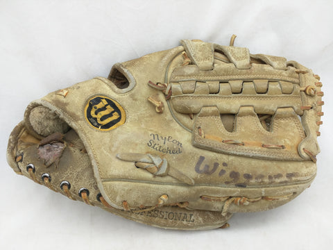 A2101 Dave Cash Endorsed Wilson Vintage Baseball Glove Mitt Leather