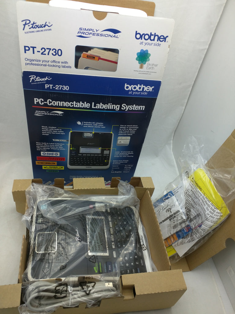 Brother PC Connectable Labeling System PT2730