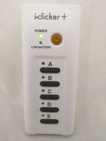 i-clicker+ iclicker Plus Remote Response Device,Lectures,Model RLR15 School Classroom