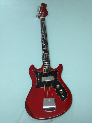 H-805 Harmony 4 String Bass Electric Guitar