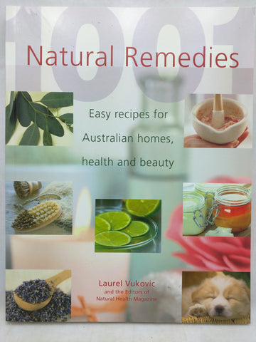 Natural Remedies [Paperback] Laurel Vukovic