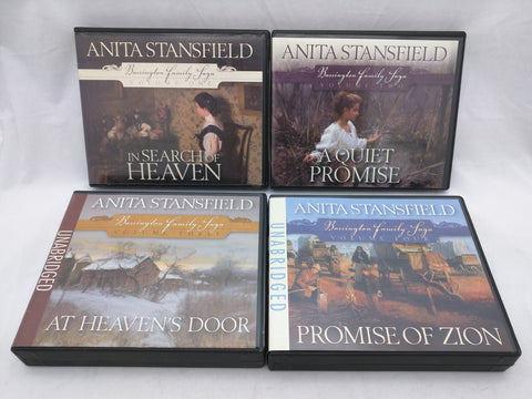 Barrington Family Saga Audio CD Set In Search of Heaven A Quiet Promise At Heaven's Door Promise of Zion