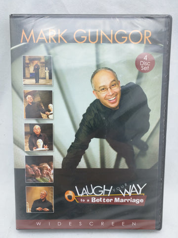 NEW Sealed Mark Gungor Laugh Your Way to a Better Marriage 4-Disc DVD Set WIDESCREEN