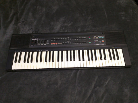 Casio CT-640 Casiotone keyboard electronic piano working portable synthesizer