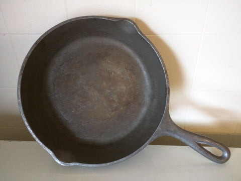 Lodge 5 SK Made in USA D1 Cast Iron Skillet 3 Notch Heat Ring