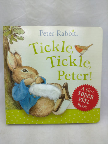 Peter Rabbit Tickle Touch Feel Book Easter Bunny