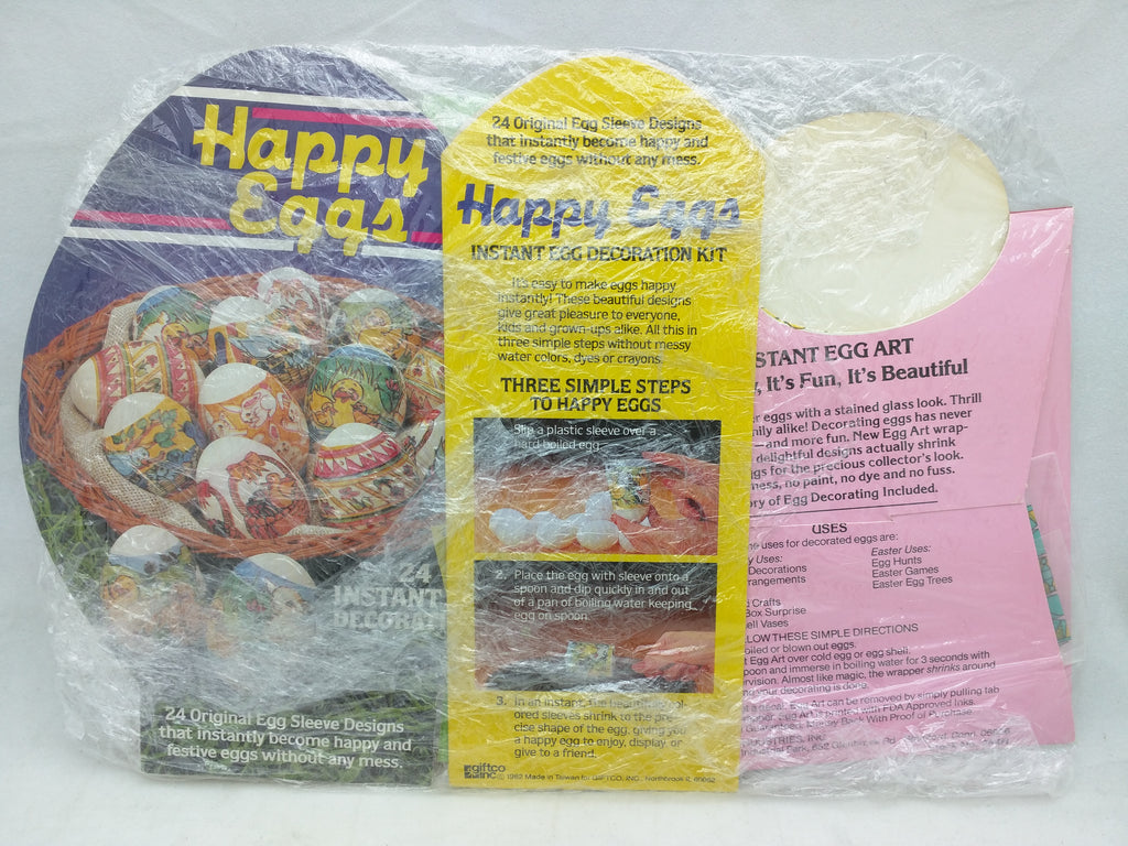 Happy Eggs Instant Easter Decorations Sleeve Design Kit
