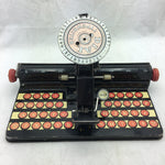 Marx Tin Dial Typewriter Metal Toy Kids 1950s
