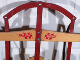 SLED Paris Champion Eastback   winter vintage wood wooden Christmas display