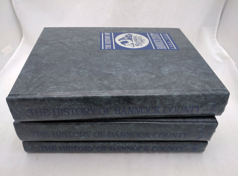 The History of Bannock County 1893-1993 Three Volume Set Bannock County Idaho ID