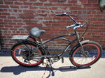 PEDEGO ELECTRIC COMFORT CRUISER MENS BICYCLE BIKE -36V/15AH Black
