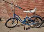 "Schwinn Lil Chick Blue Bike Bicycle 20"" Stingray Banana Seat Sting Ray Girls Vintage"