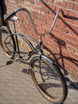 Schwinn Mens Vintage Bike Bicycle Black Typhoon 26? 1960s? AS-IS