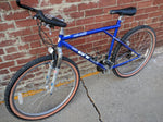 52 cm GT All Terra Rebound Bike Bicycle Mountain Blue Purple Rock Shox