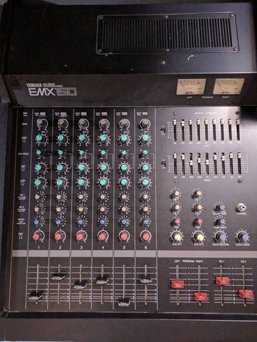 Yamaha EMX 150 Analog Mixer 6 Channel Powered 500 W