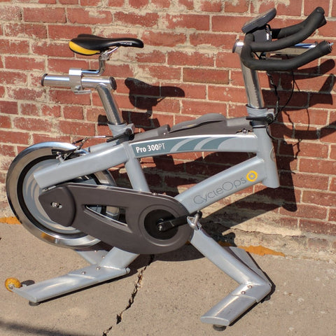 CycleOps Pro 300PT Indoor Cardio Stationary Spin Training Exercise Bike Road Trainer Cycle Ops 300 PT