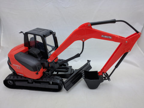 KUBOTA KX080-4 EXCAVATOR 1:18 Scale BY NEW RAY TOYS Construction ORANGE Toy