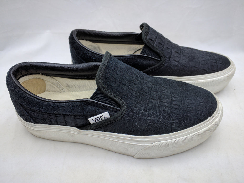 ladies vans 6 slip on