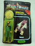 1984 Star Wars Power Of The Force Special Coin A-Wing Pilot Kenner VTG Gun