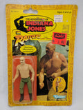 Vintage 1982 Kenner Raiders of the Lost Ark - German Mechanic Figure on Card