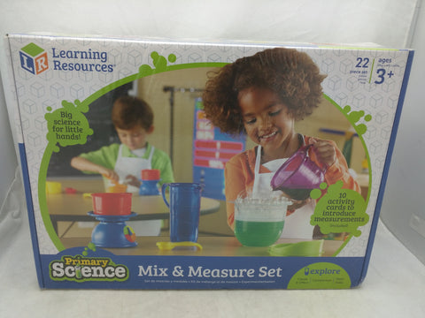 New Mix & Measure 22 Piece Set Primary Science Learning Resources Age 3+
