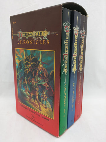 D&D TSR Dragonlance Chronicles Box Set First Edition Vintage Dungeons & Dragons Raistlin