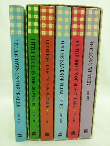 5 + 1 The Little House on the Prairie Boxed Book Set Paperback Books Wilder
