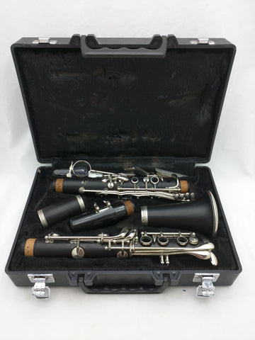 34 Yamaha Clarinet 020762 A II Case Woodwind Instrument