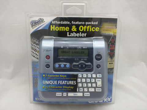 NEW Brother PT-1280 Labeler Label Thermal Printer Home Office LCD Display Sealed