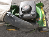 "AS-IS John Deere 21"" PowerDrive Self Propelled Lawnmower Power Drive Lawn Mower"