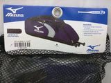 Mizuno G3 Bat Bag Premier New In Package Sealed Holds 3 Bats Purple Black Gray