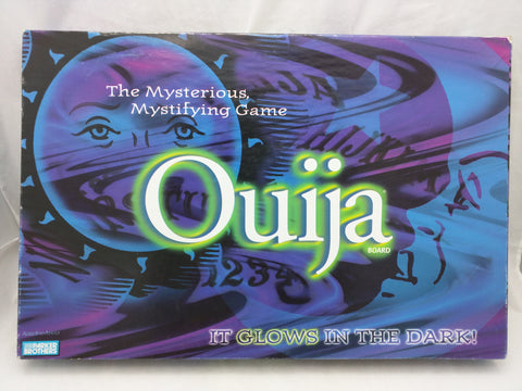 1998 Ouija Board Game Glows Parker Brothers Halloween Mystifying