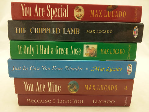 6 Max Lucado Board Kids Books Set You Are Mine Special