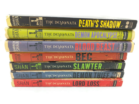 7 The Demonata Darren Shan Book Set Lord Loss 1 2 3 4 5 6