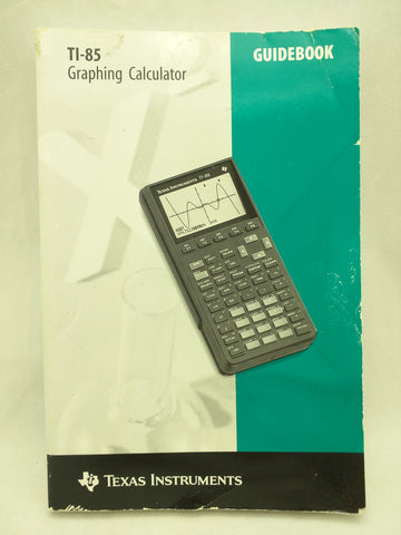 TI-85 Manual Guidebook Texas Instruments Graphing Calculator Book 37