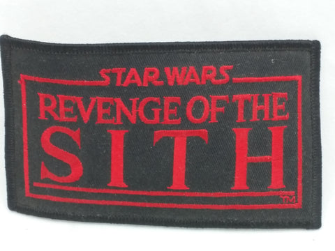 4X2.5 Black Red 2005 Patch Star Wars Return of the Sith P-SW-21