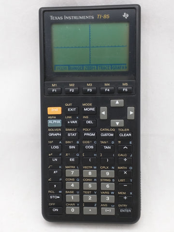 TI-85 Texas Instruments Graphing Calculator Tested Working 23