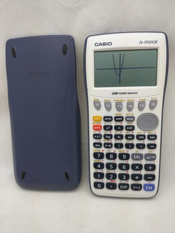 fx-9750GII USB Casio Graphing Calculator w/Cover Tested Working Power Graphic 28